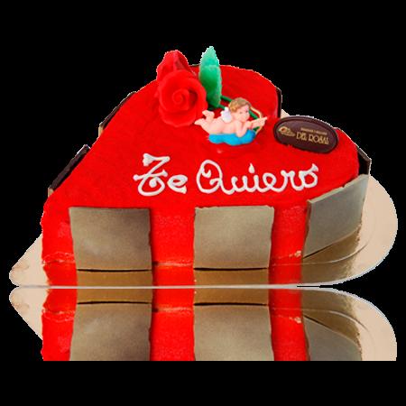 Rojo terciopelo - Tartas San Valentín Panadería del Rosal Almería
